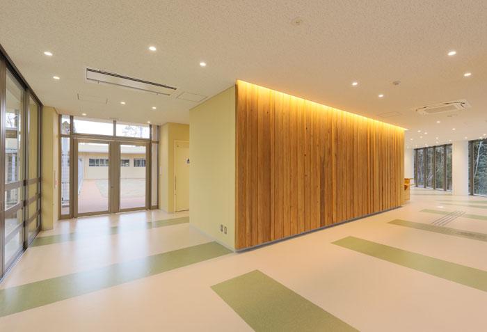 Entrance & Office:エントランス&事務室